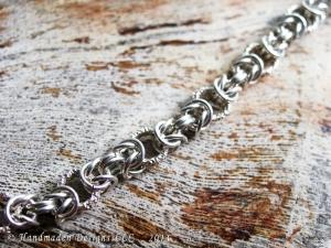 Byzantine (Bracelet)(Sterling Silver/Dragondust)