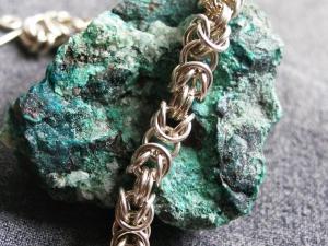 Byzantine (Bracelet)(Sterling Silver)