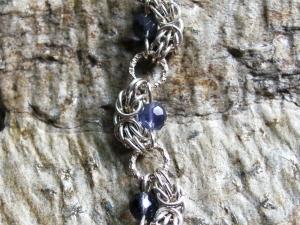 Half-Trizanov (Bracelet)(Sterling Silver/Iolite)