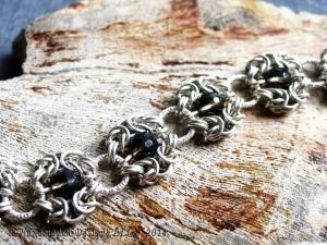 Romanov (Bracelet)(Sterling silver/Smokey Quartz)