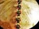 Copper and green & magenta 4 Winds chainmaille bracelet - Handmaden Designs LLC