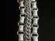 Sterling silver book chain and Half Persian 3in1 bracelet