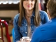Lora earrings worn by Anna Van Hooft (Linnette) on Cedar Cove Season 3 Episode 1