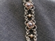 Sterling silver, copper, and freshwater pearl Not Tao 4 bracelet