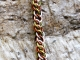 Sterling silver, copper, and camo enameled copper Half Persian 3in1 bracelet