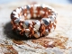 Sterling silver and copper Centipede/Millipede ring by Handmaden Designs LLC