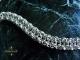 Sterling silver Vipera Aspis bracelet by Handmaden Designs LLC