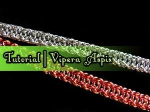 Vipera Aspis Weave Tutorial by Handmaden Designs LLC