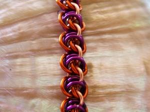 Avarin (Bracelet)(Copper/Amber Brown/Purple)