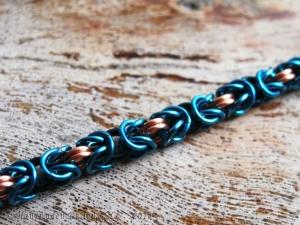 Byzantine (Bracelet)(Copper/Blue/Teal)