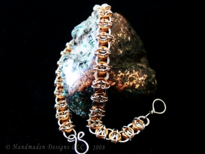 Celtic Visions bracelet (Sterling Silver/Copper)