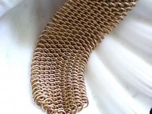 Dragonscale Bracelet (Gold-filled)