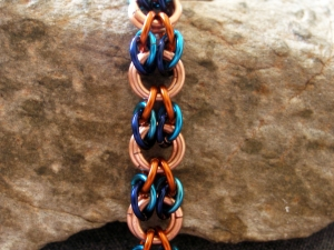 Hooves (Bracelet)(Copper/Two-Tone Blue/Amber Brown)