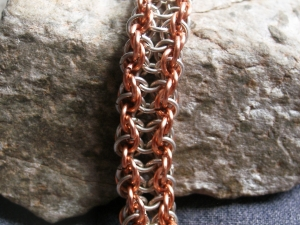 Vipera Aspis (Bracelet)(Sterling Silver/Copper)